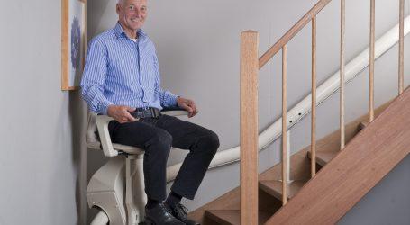 מעלון כסא למדרגות דגם ואן גוך